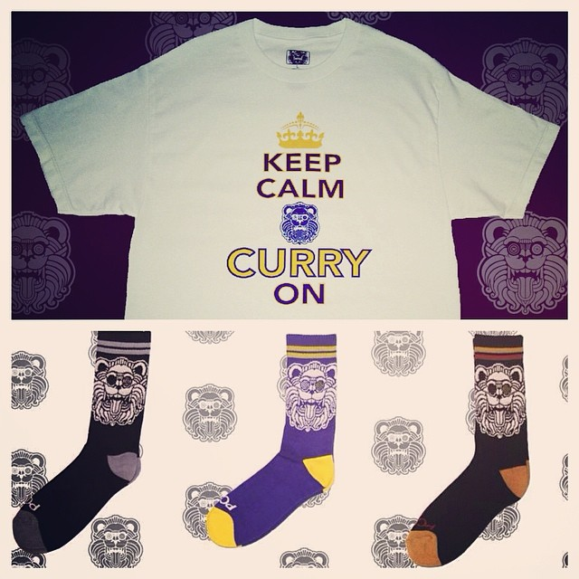 Limited edition KCCO shirt and socks available on www.piecekeeperclothing.com #warriors #NBA #goldenstatewarriors #KCCO #dubnation #stephcurry
