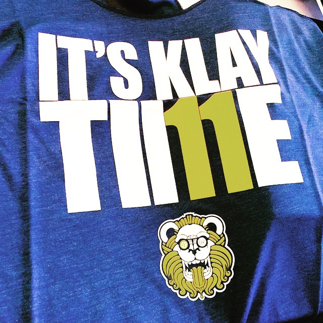 Let's go warriors! #dubnation #keepcalmcurryon #itsklaytime #dubs #closeemout #nba #playoffs #bayarea #goldenstate
