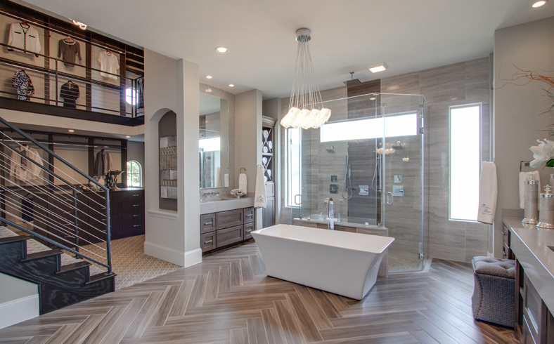 Riverstone Master Bath & Two-Story Closet