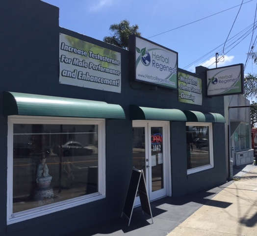 Our Hermosa Beach storefront.