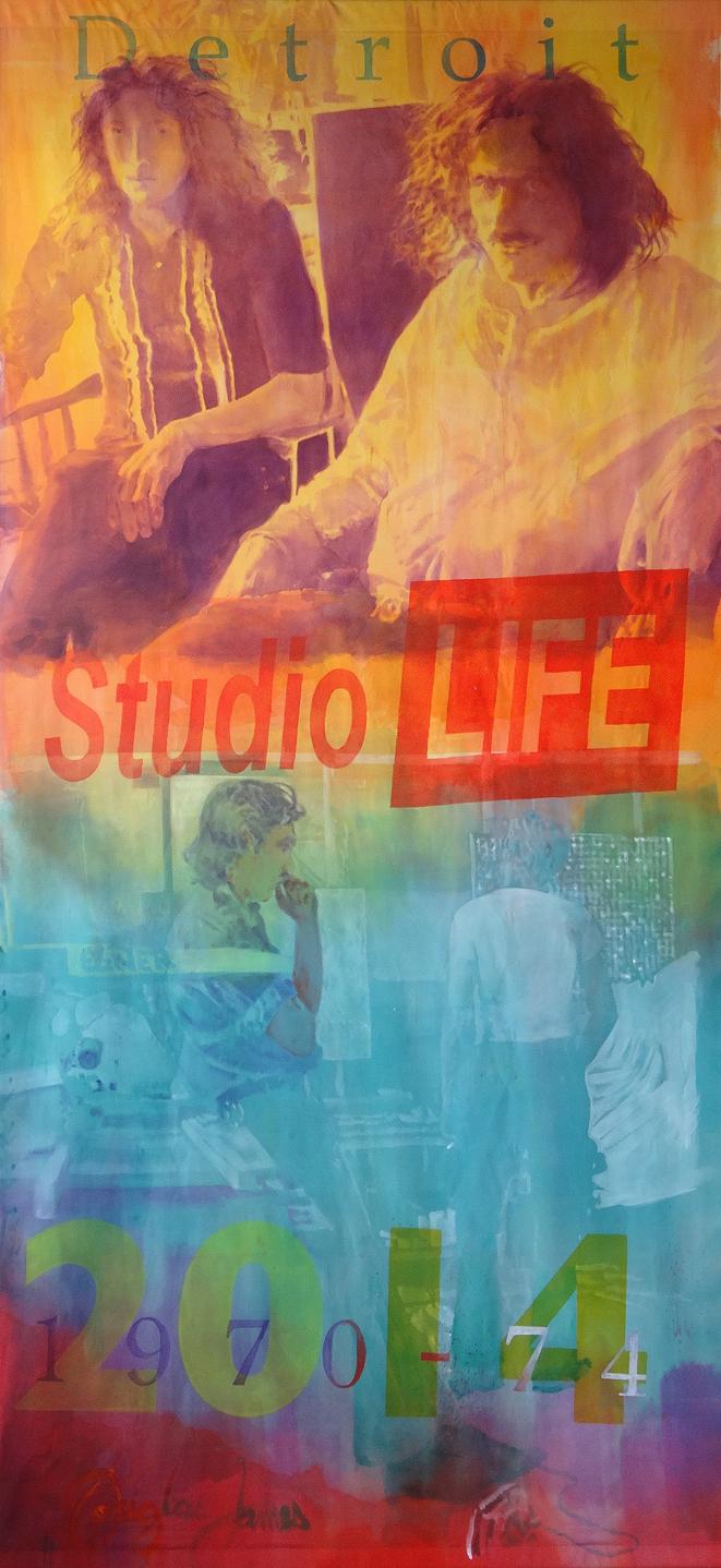 Studio Life       Acrylic     8.5' x 18'      2014