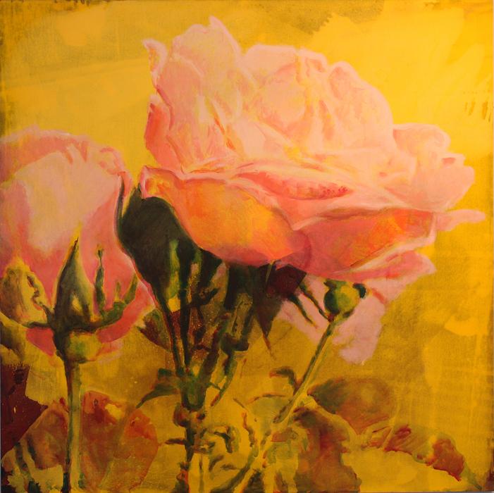 Rose    Acrylic   6' x 6'  2015
