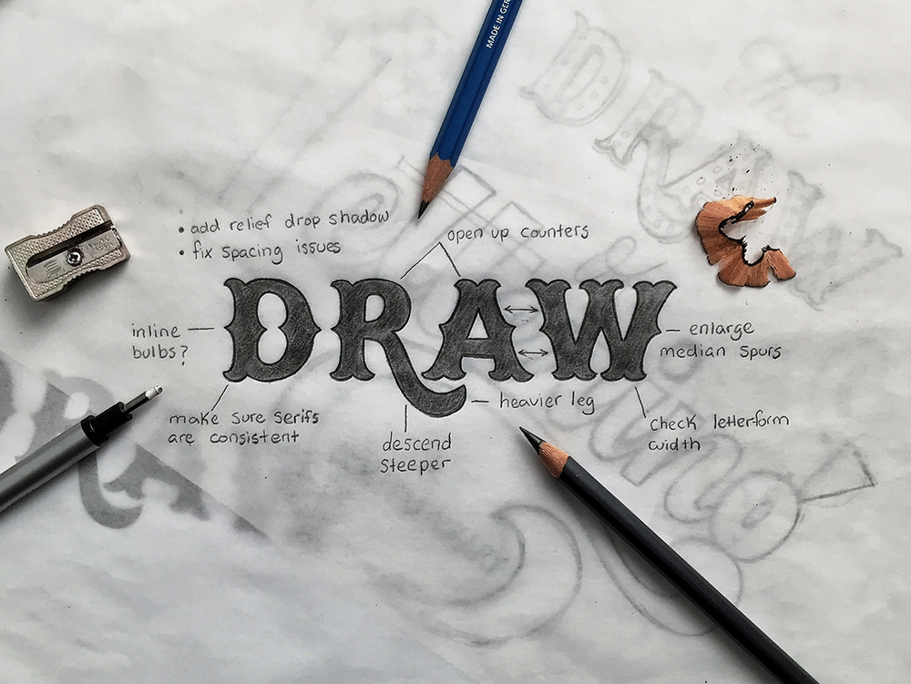 The draw of lettering tierney studio altavistaventures Image collections