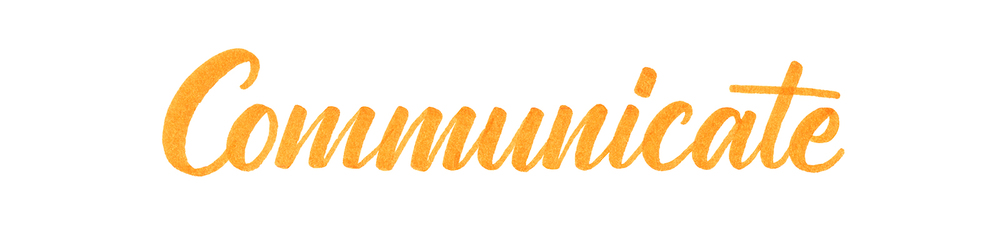 Arcs allow more harmony throughout your letterforms. The connecting, northwest arcs will naturally run into the following letter at its waistline, differentiating the letters from one another.