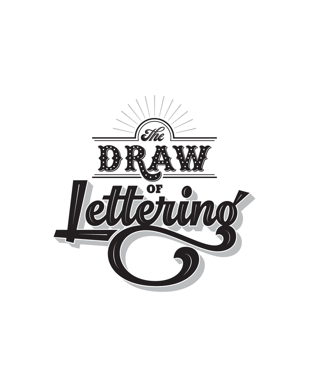 Mural, Lettering & Exhibition Design   The Draw  Of Lettering      View Project
