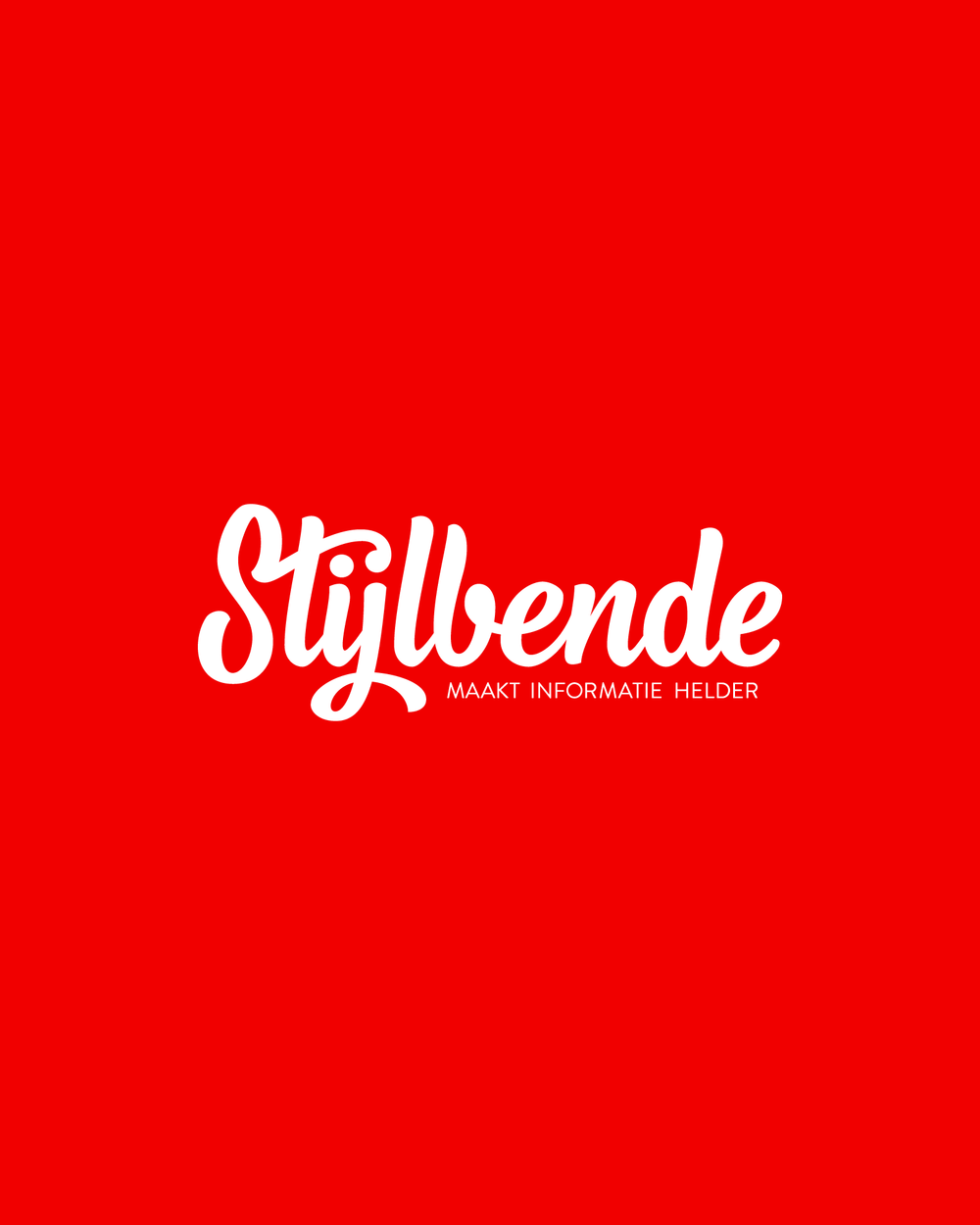 Logo Refresh Stijlbende View Project