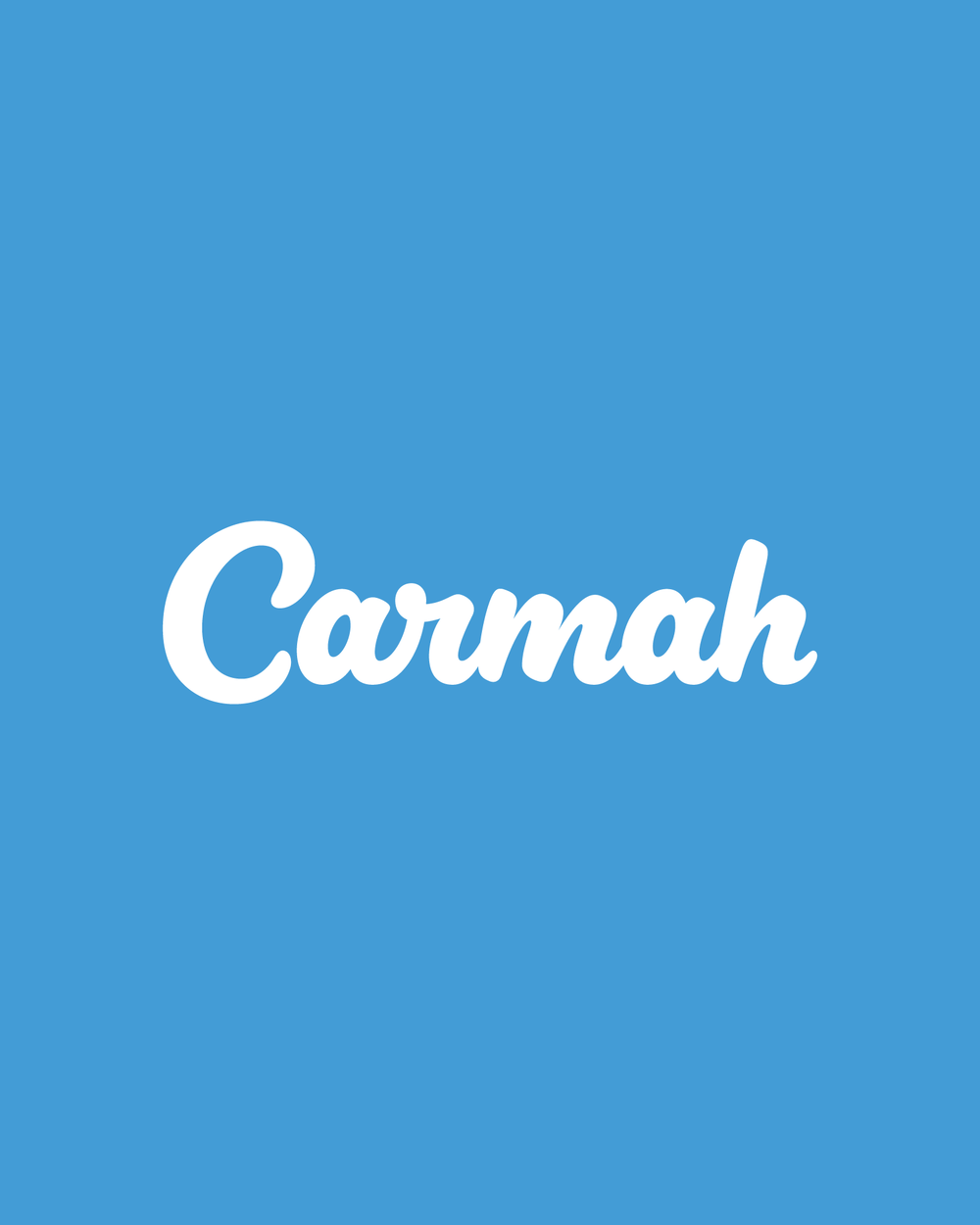 Hand Lettered Logotype    Carmah    View Project