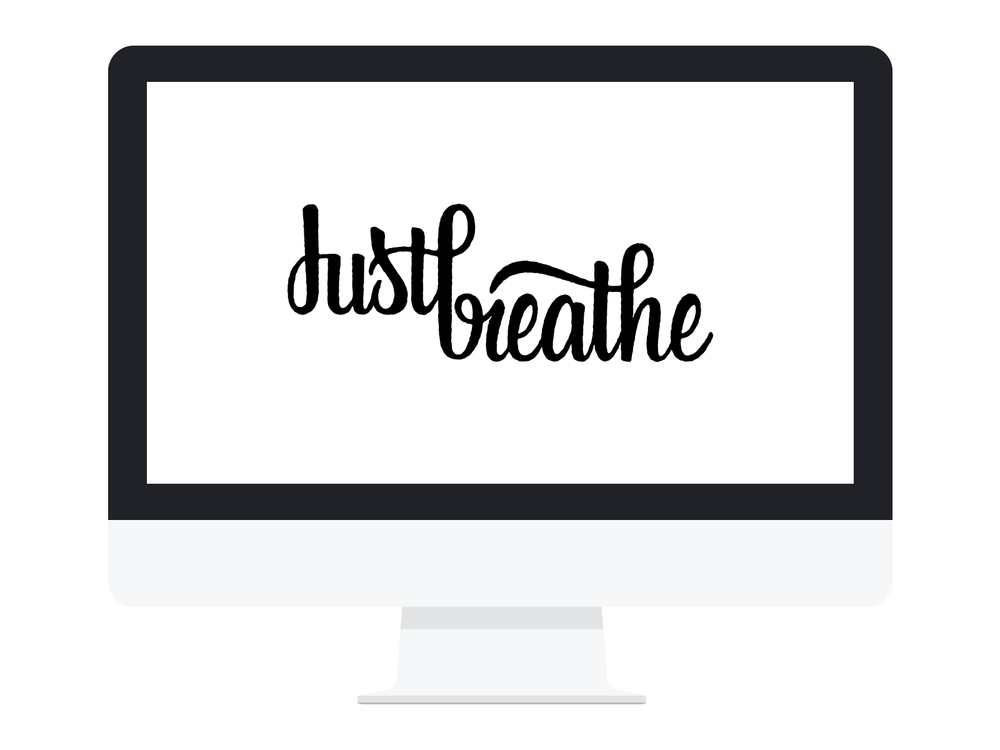 Tablet Wallpaper Just Breathe DOWNLOAD