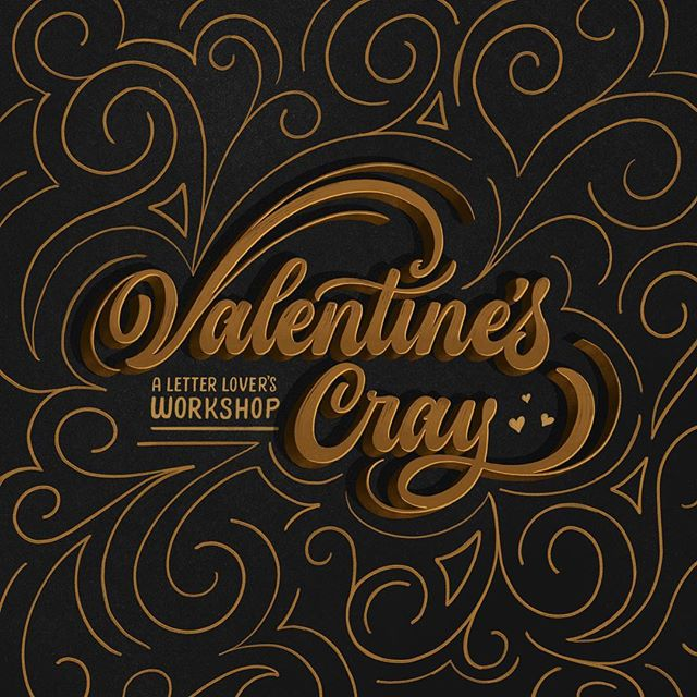 """Happy Valentine's Cray! I haven't really mentioned the @crayligraphy workshops that I'll be hosting in the next month with fellow Educraytors @mattvergotis and @nataliedowneydesign so I'm taking the opportunity to do so now. Our Duuo Lettering for Logotypes classes are filling up quick, so now it's time to give our Crayligraphy workshops a little love ♥️ · If you're interested in """"brushing"""" up your calligraphy or you've yet to begin your journey, Crayligraphy is the best way to begin. Learn the cheapest, easiest and most fun way to learn calligraphy through the magical world of a marker. · Next Saturday, February 23 @nataliedowneydesign and I will be headed to our stomping grounds in Baltimore, MD. Then, Saturday March 9 and Saturday March 16 (the day before our Duuo Logotypes workshops), @mattvergotis and I (also @lialettercrafts and @highpulpstudio might be making an appearance for LA! 🤫) will be teaching Crayligraphy workshops in New York City then Los Angeles. · If this interests you, click the link in my bio to register for any of our upcoming events."""