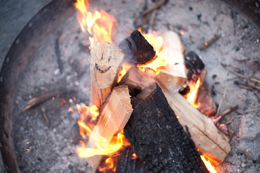 Campfire at Beaver Dick Park