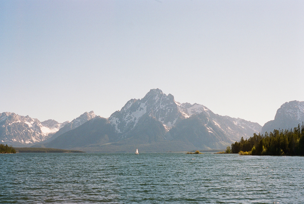 The Grand Tetons and Colter Bay
