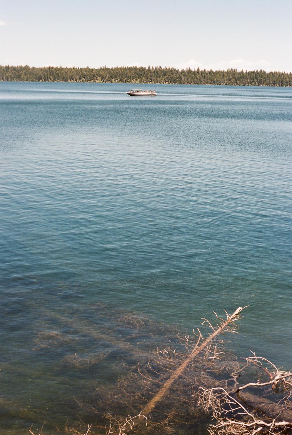 Jenny Lake ferry Grand Teton National Park
