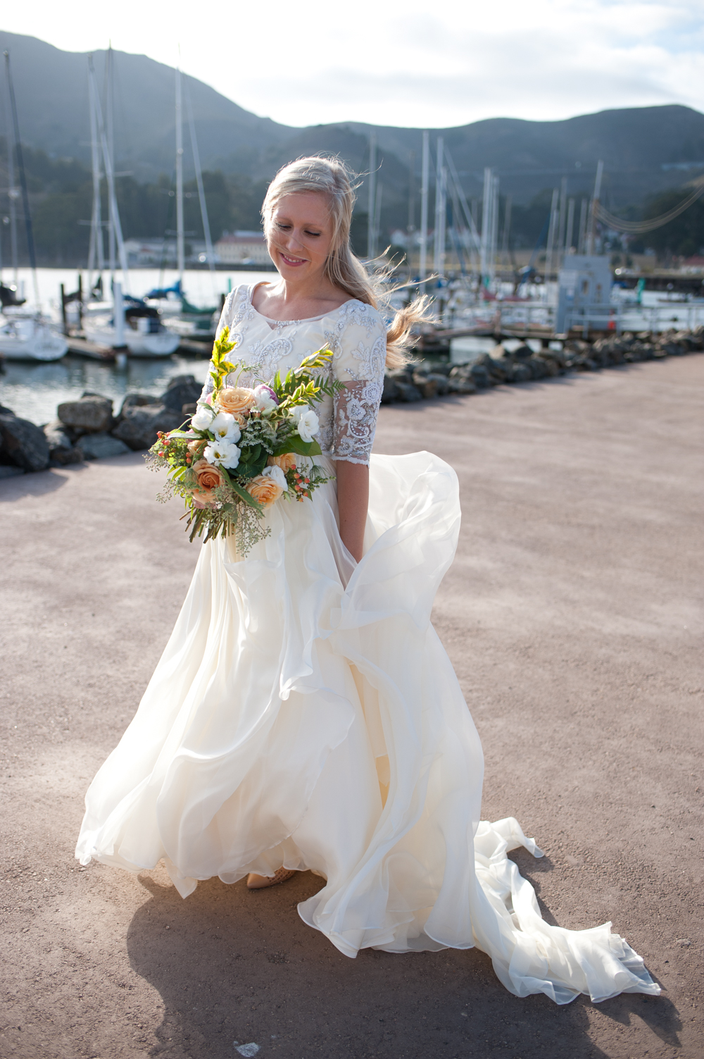 Golden Gate Bridge Bridal photography