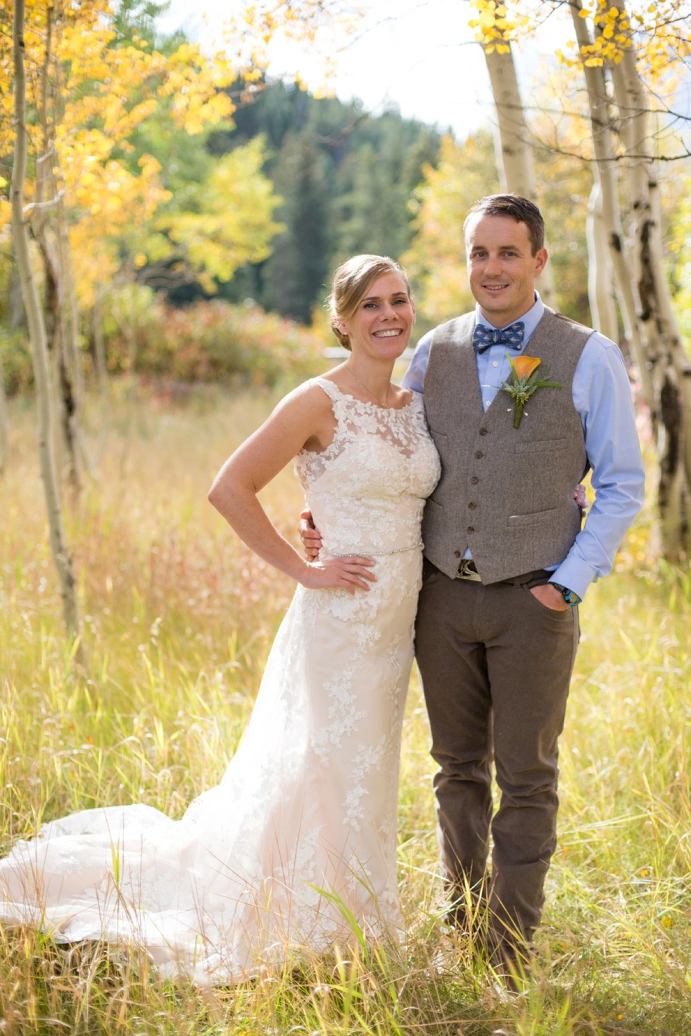 Victor Idaho Fall Wedding