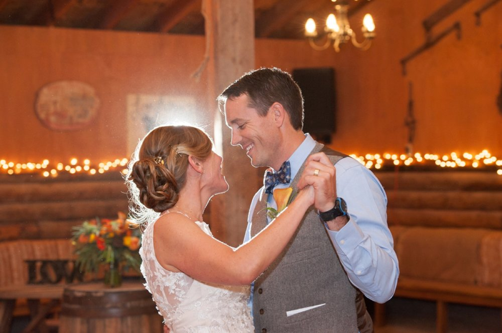 Jackson Hole Rustic Barn Wedding