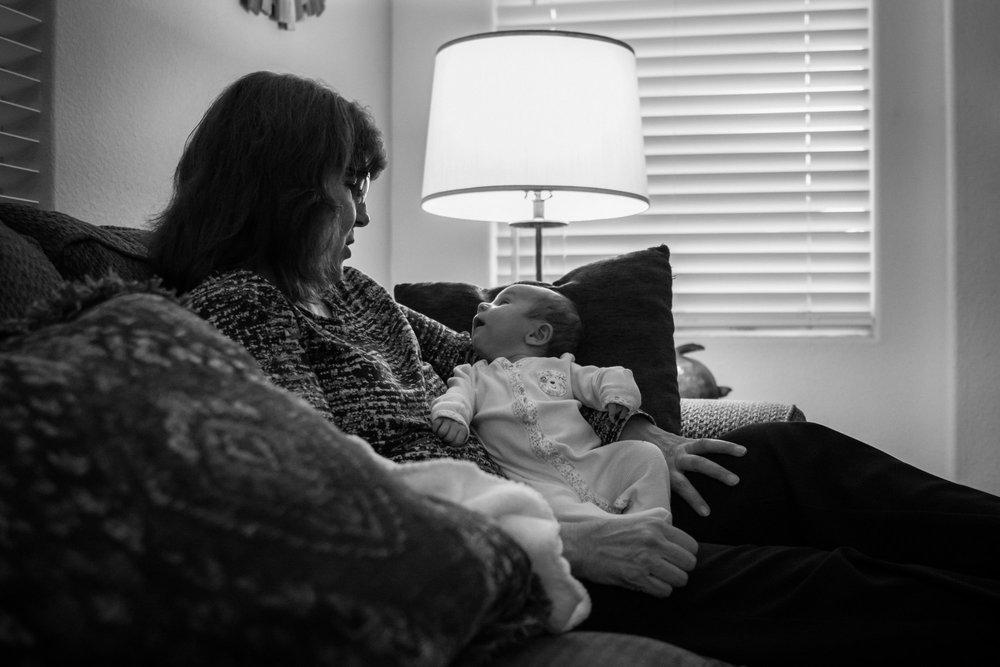 Grandma and Aliyah