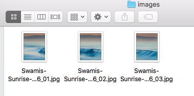 Photoshop will lump all the frames in a single folder and number them for you so it's not like putting a puzzle together!