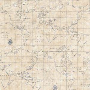 Then this  blue grid map wallpaper    is a bit more subtle