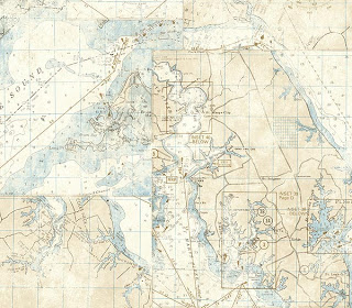 LOVE this   ivory nautical map wallpaper  , it's my pick thus far