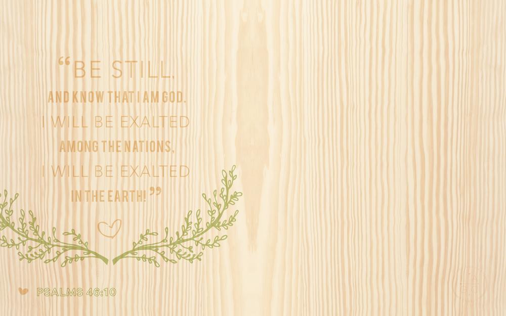 Still Wood Wallpaper warm