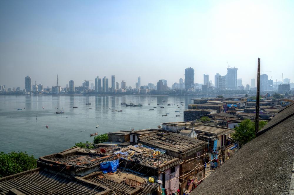 Worli Fishing Village in Mumbai, India