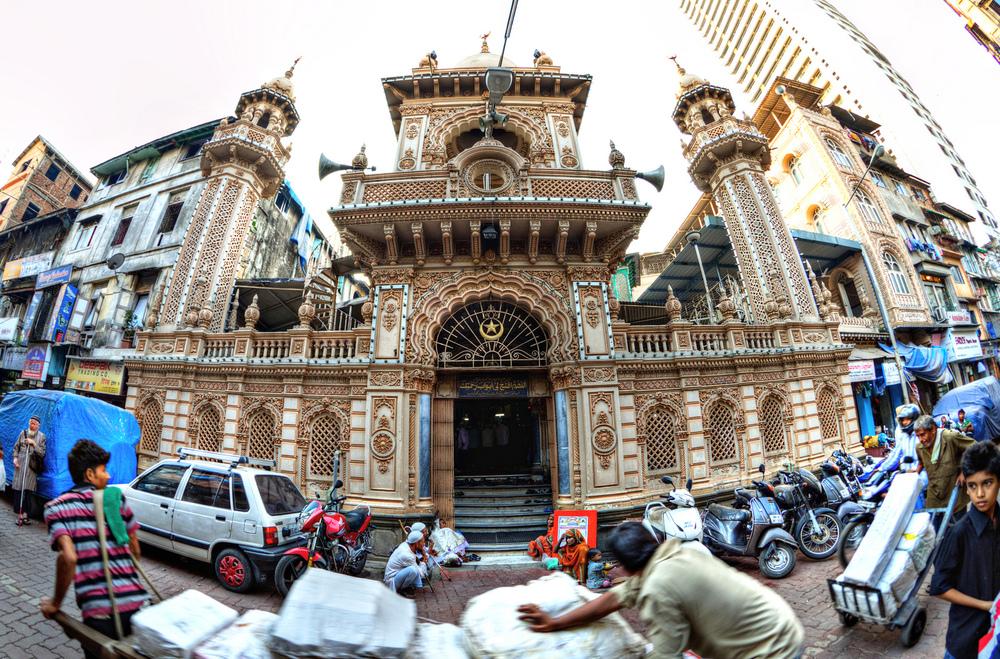 Mosque in Mumbai, India