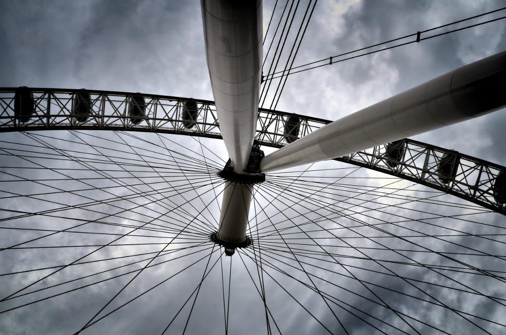 London Eye, London, U.K.