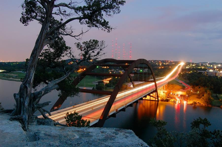 Pennybacker Bridge, Austin, Texas, USA