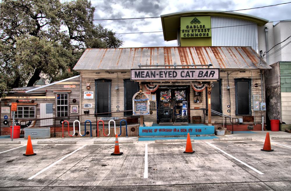 Mean-Eyed Cat Bar, Austin, Texas, USA
