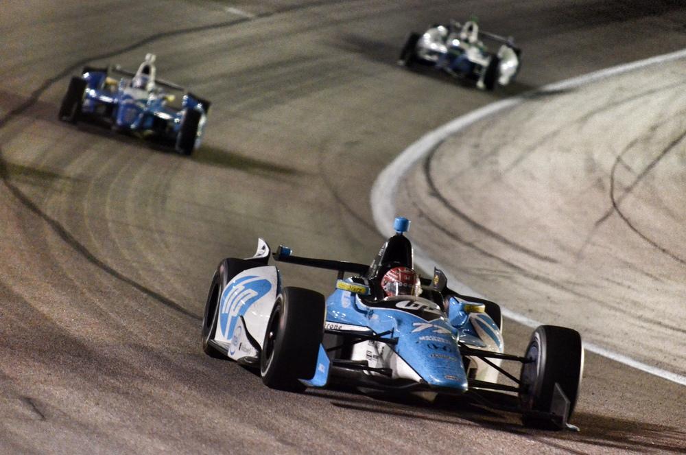 Indy Turn @ Texas Motor Speedway