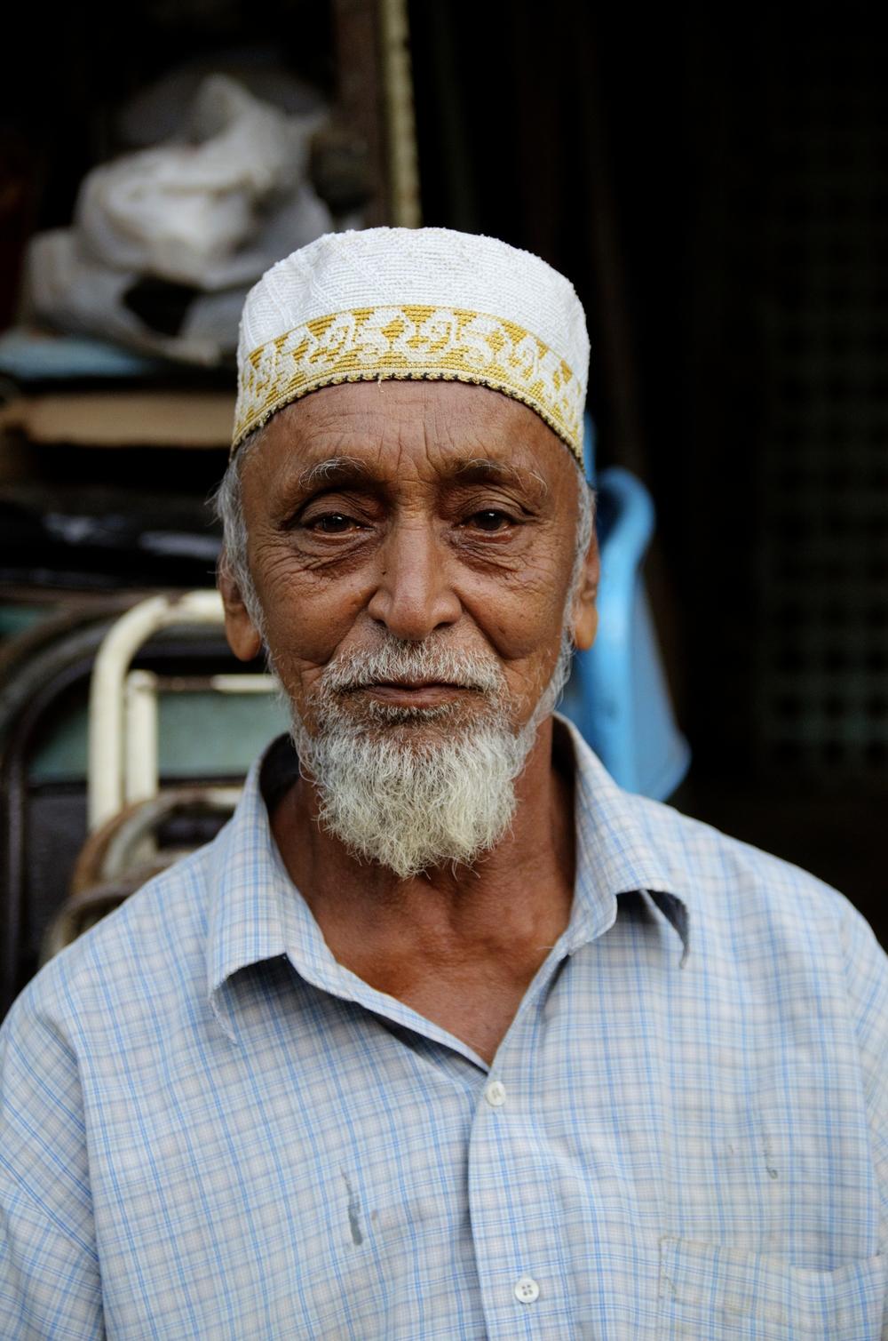 Mumbai Market Man