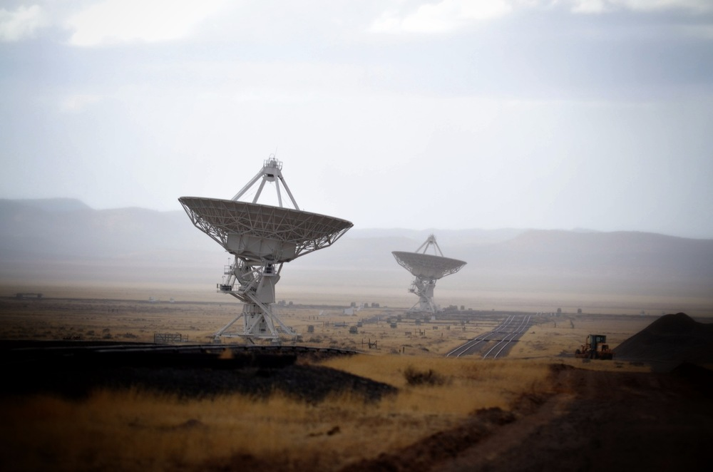 The Very Large Array, New Mexico, USA