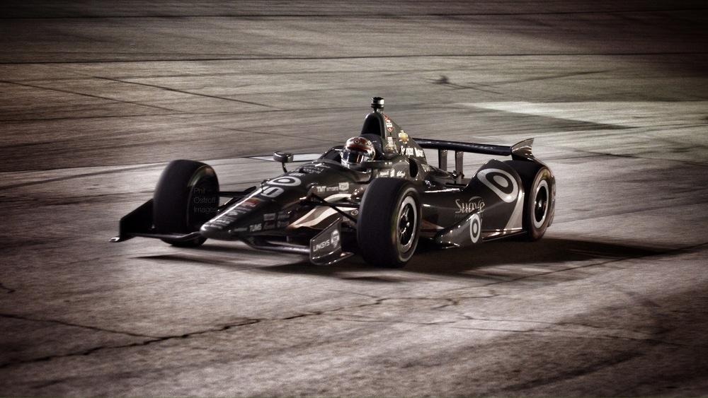 Leaving Pit Lane, IndyCar, Texas Motor Speedway