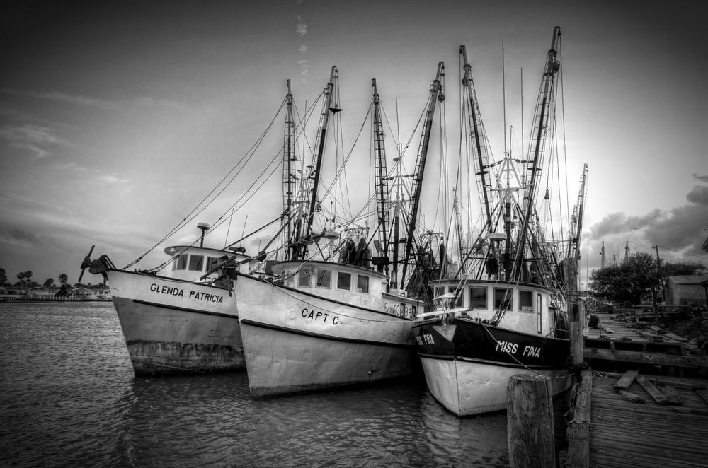 Fishing Boats at Port Isabel, Texas