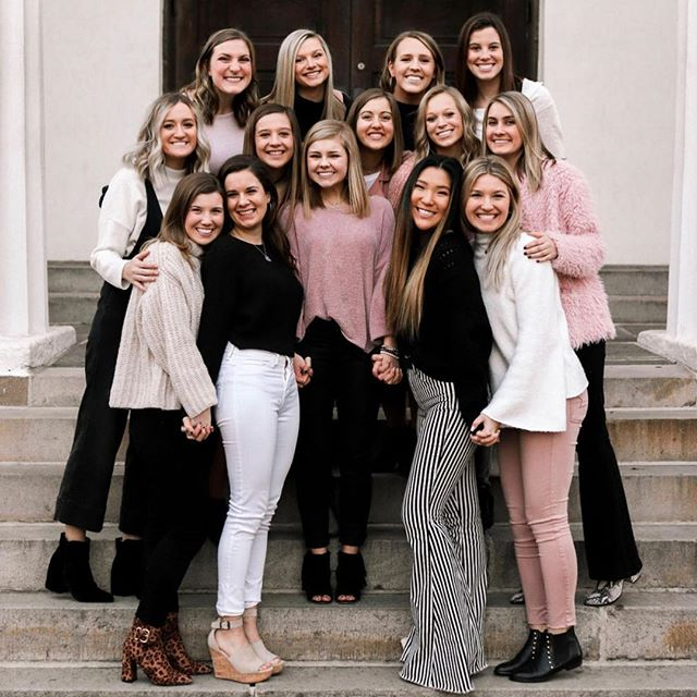 Our 2019 Exec Board! 💫#xoxoaxo