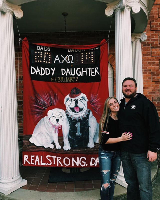 Daddy Daughter day!! #real #strong #dads