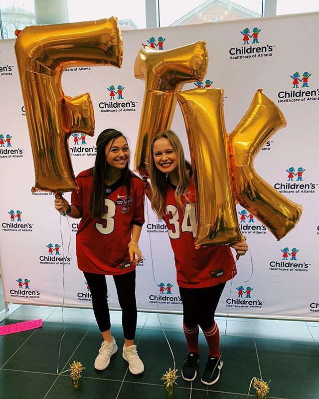 Alpha Chi is for the Kids!!! We had so much fun at Dance Marathon supporting UGA miracle!