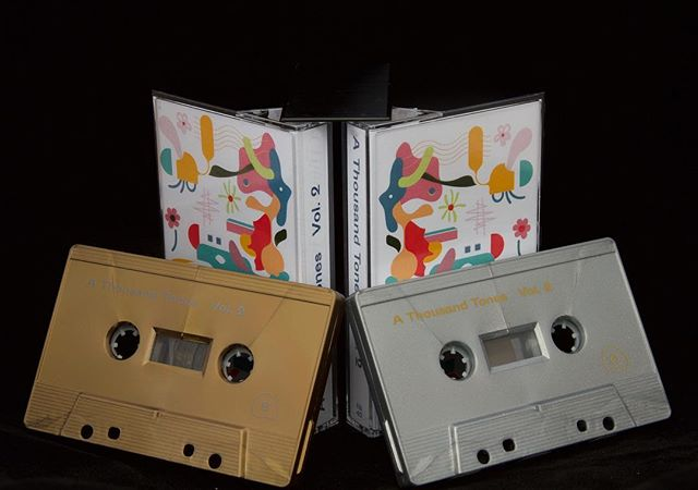 Pre-Orders for A Thousand Tones Vol II are LIVE.  This is the 2nd volume from a series of compilations initiated by non-men music makers from vitalized international communities. Limited edition cassettes will be available for purchase this Saturday @the_limin_room for the release show!  special thanks to @sunmoonstarmusic and all the incredible artists who have come together to make this project a reality. Link in bio Artwork by @alphabet_party