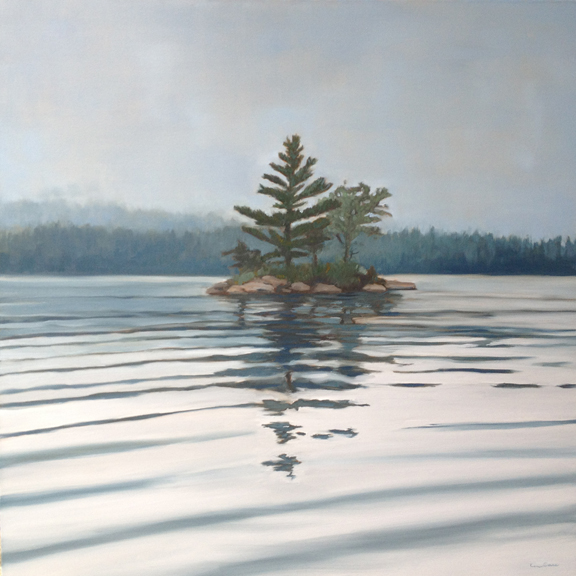 Absolute  (Wake on Squam)    36x36        SOLD