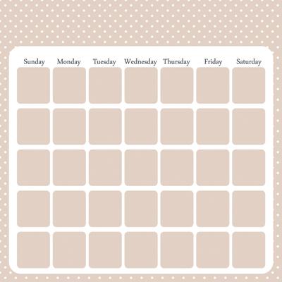 Calendar Girl - A