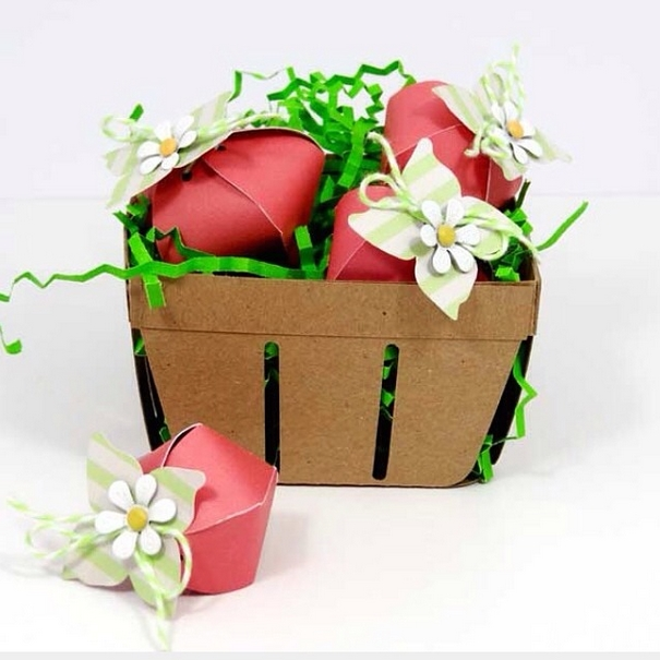 Darling gift basket by Amanda Colemanusing Chickaniddy Crafts
