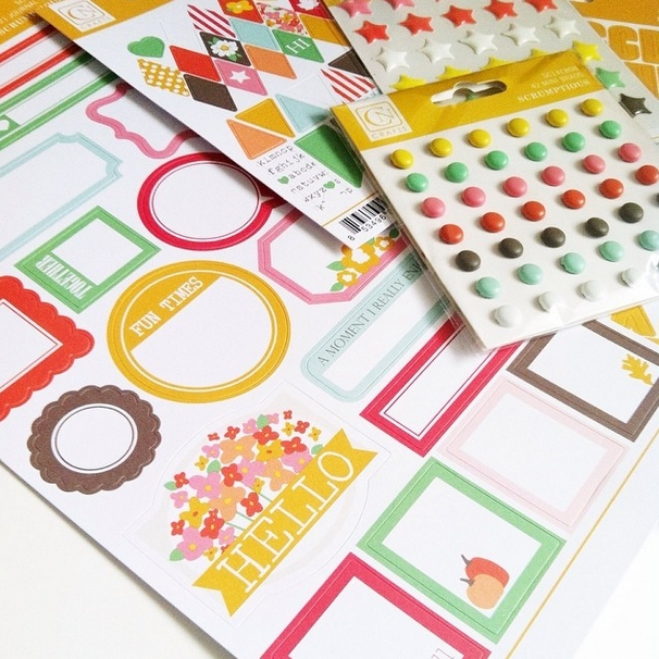 My Newest Scrapbook Collection called Scrumptious is here!
