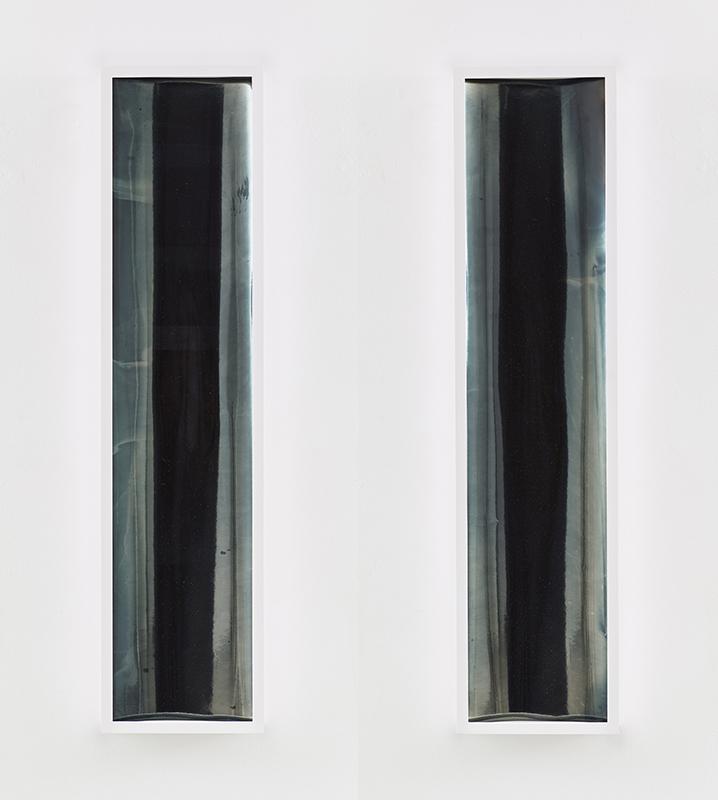 Liz Deschenes, Untitled (zoetrope) #1 and Untitled (zoetrope) #2