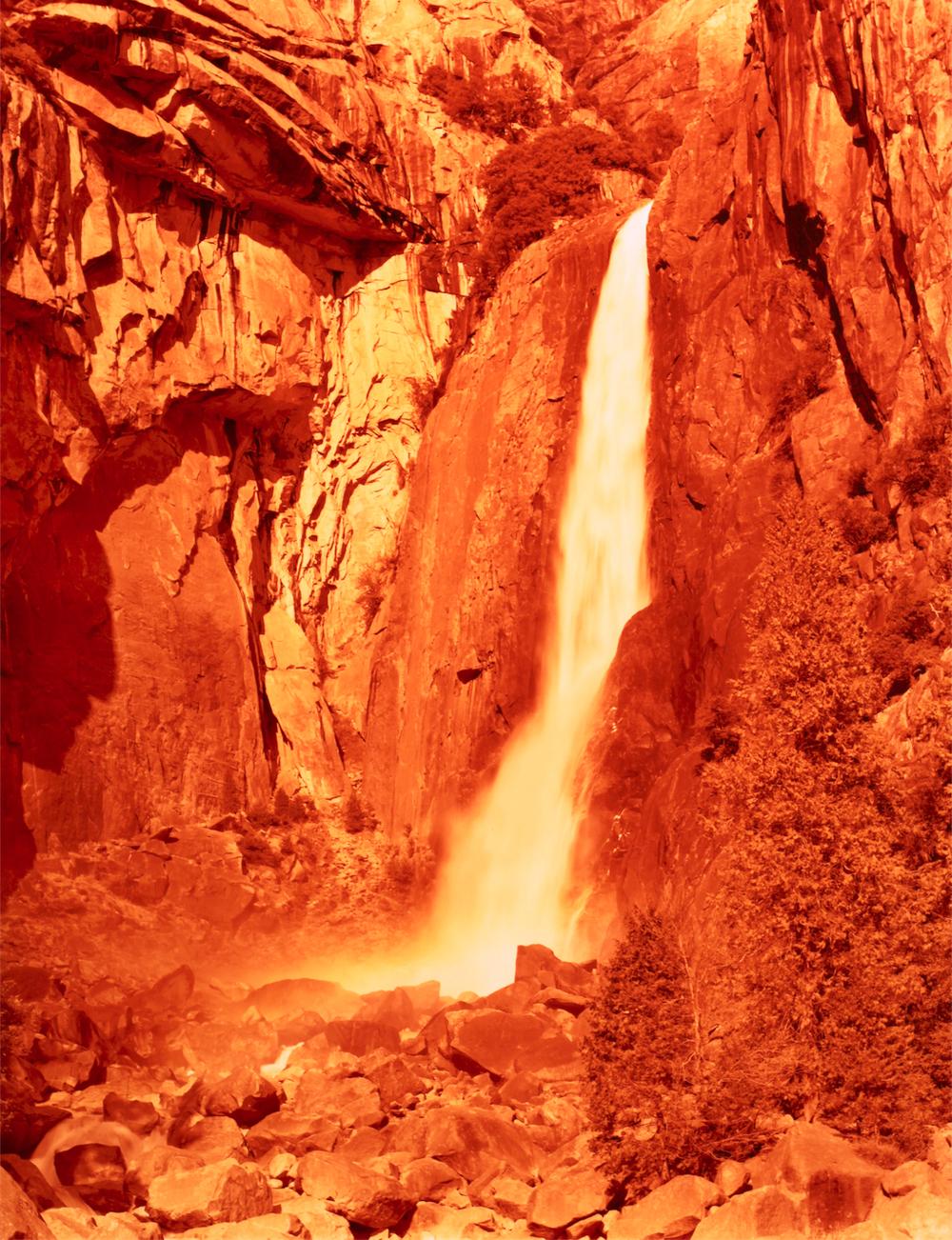 David Benjamin Sherry, Lower Yosemite Falls, Yosemite, California
