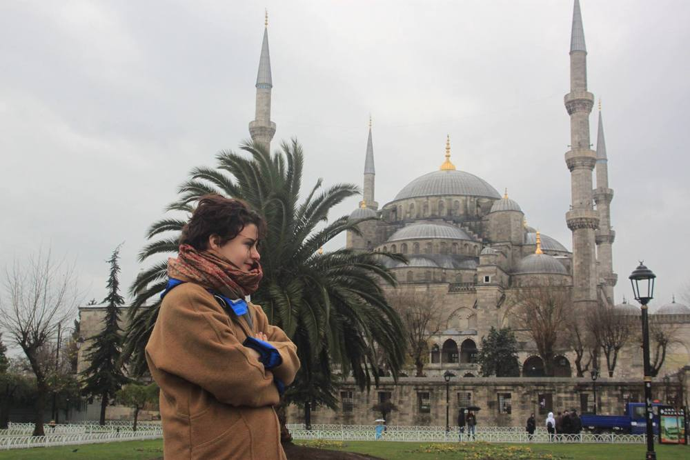Hannah Alongi is studying at Bogazici University in Istanbul for the full 2014-2015 academic year.