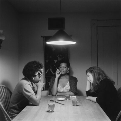 Carrie Mae Weems. The Kitchen Table Series. 1990.  This is number 9 in a set of photos titled The Kitchen Table Series.