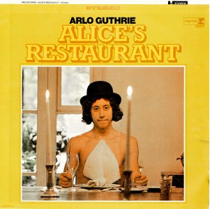 """Alice's Restaurant Massacre"" was released on Arlo Guthrie's 1967 debut album Alice's Restaurant. (Newseum collection)"