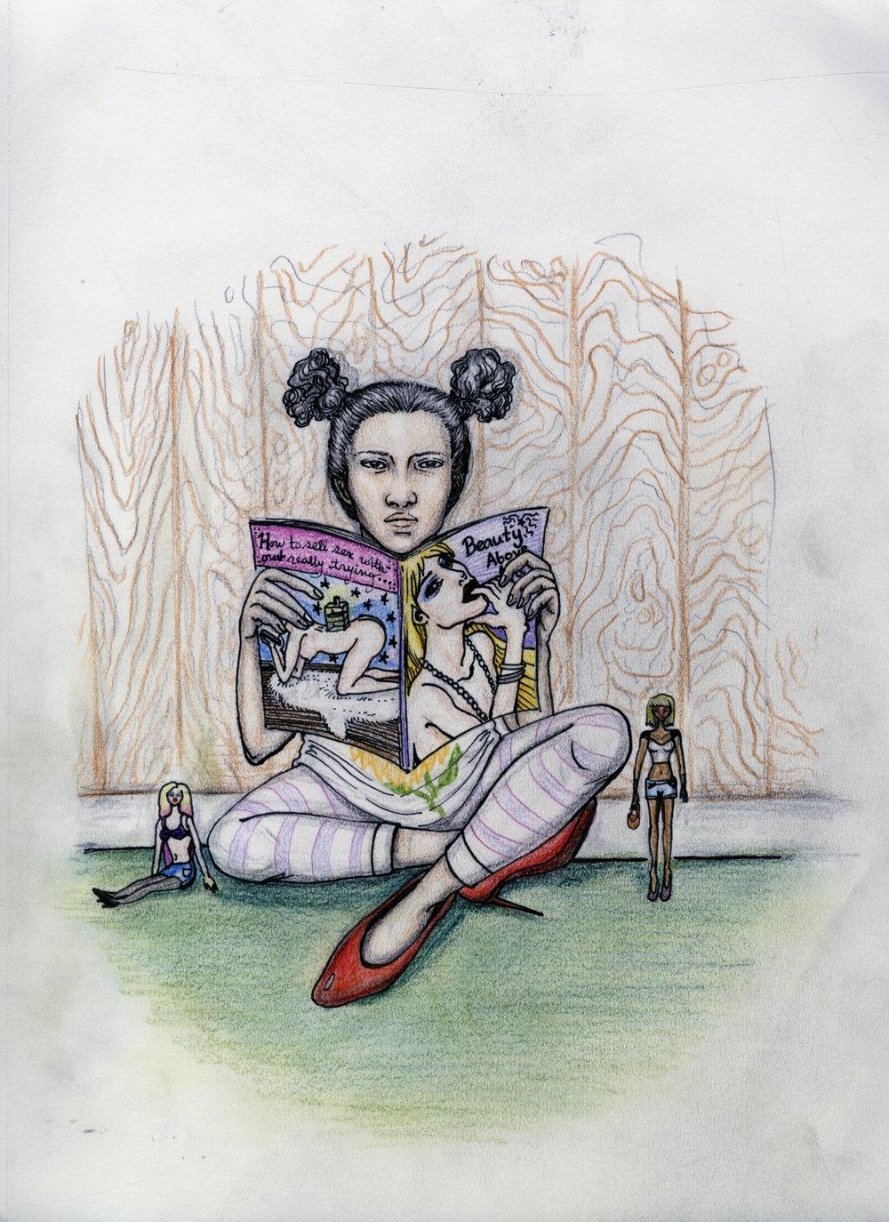 Artwork by Emma Ogden '21