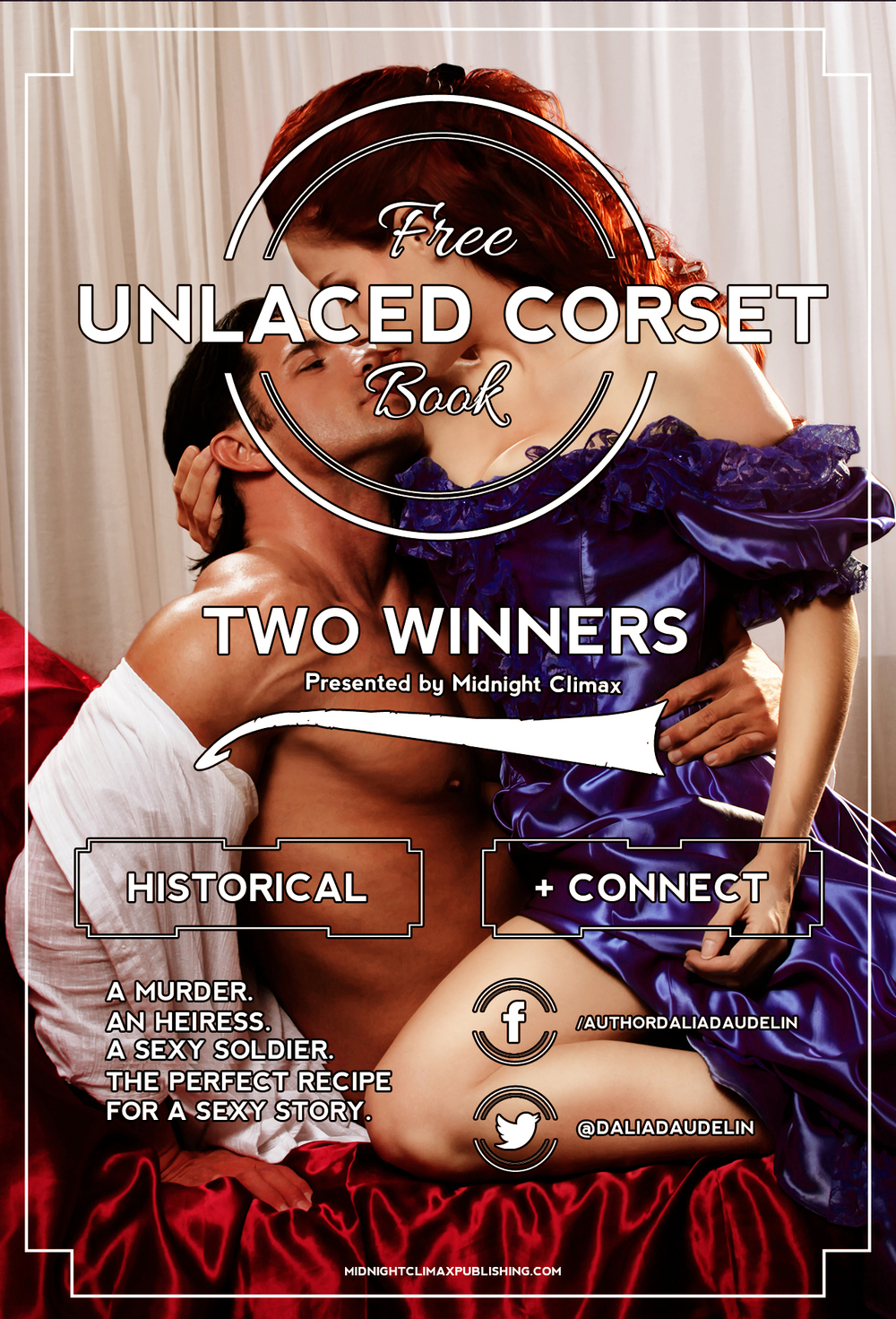 Win a free copy of our newest historical romance, Unlaced Corset!