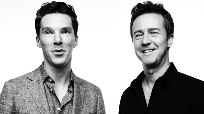 Benedict Cumberbatch and Edward Norton on Dealing With the 'Insanity' of Fame